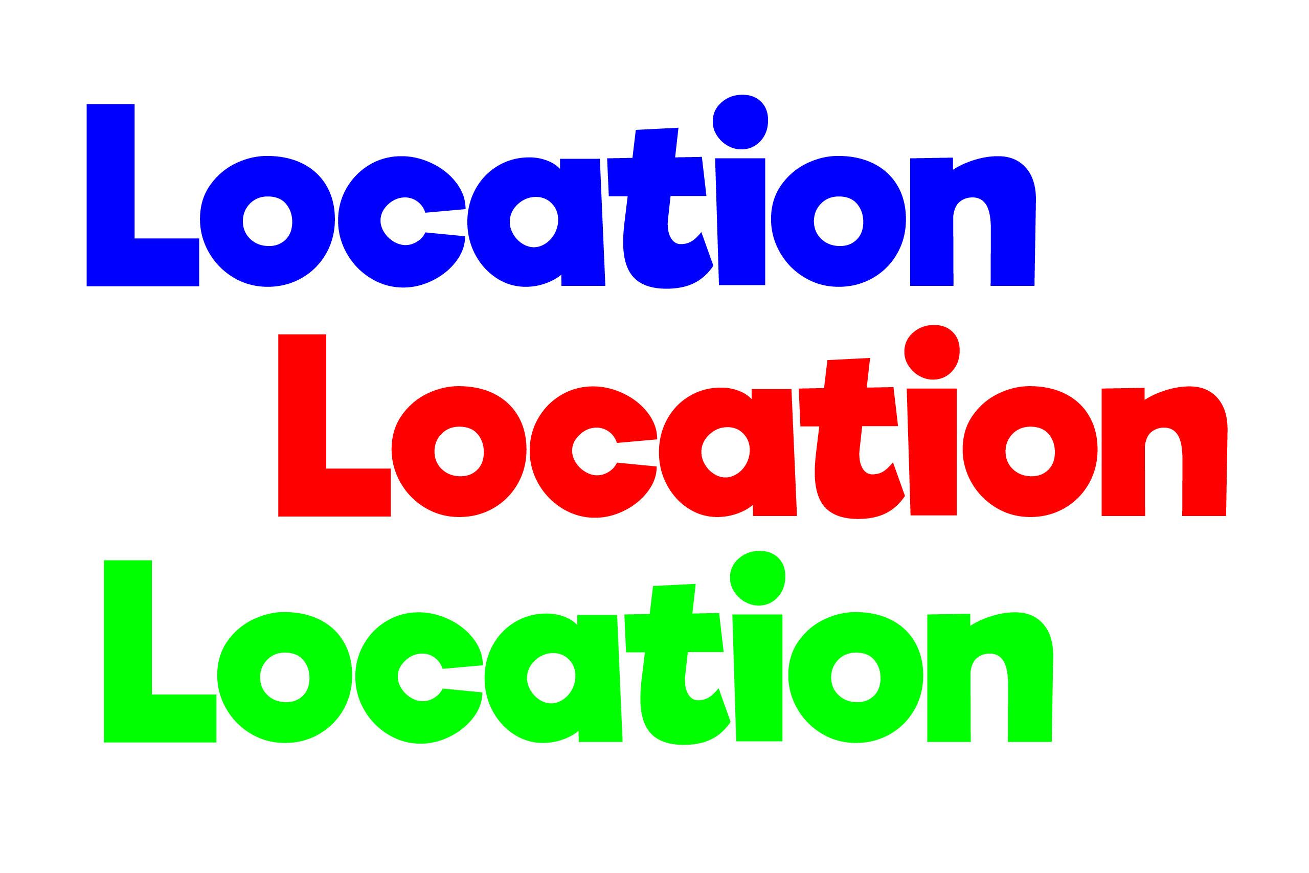 Location-location-location
